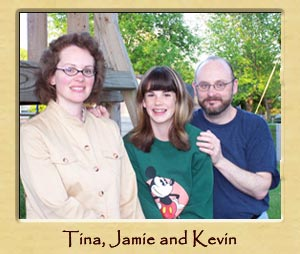 Tina, Jamie and Kevin
