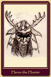 Herne the Hunter sketch