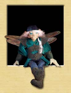 robin the Dragonfly Faerie